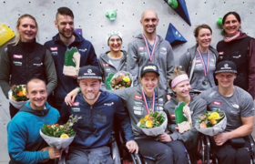 6 Medaillen für Österreichische Paraclimber in den Niederlanden