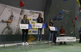 Jan-Luca Posch und Laura Stöckler gewinnen den letzten Austria Climbing Cup der Saison